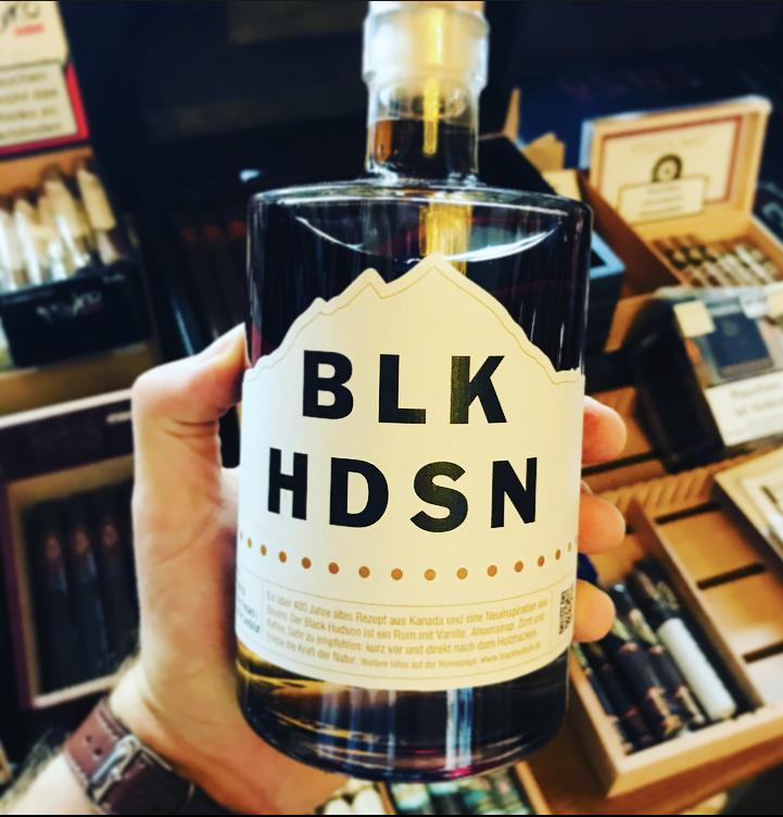 black hudson rumlikör humidor zigarre whiskey whisky rum likör schnaps feuerzeug landshut zeder zigarette tabak