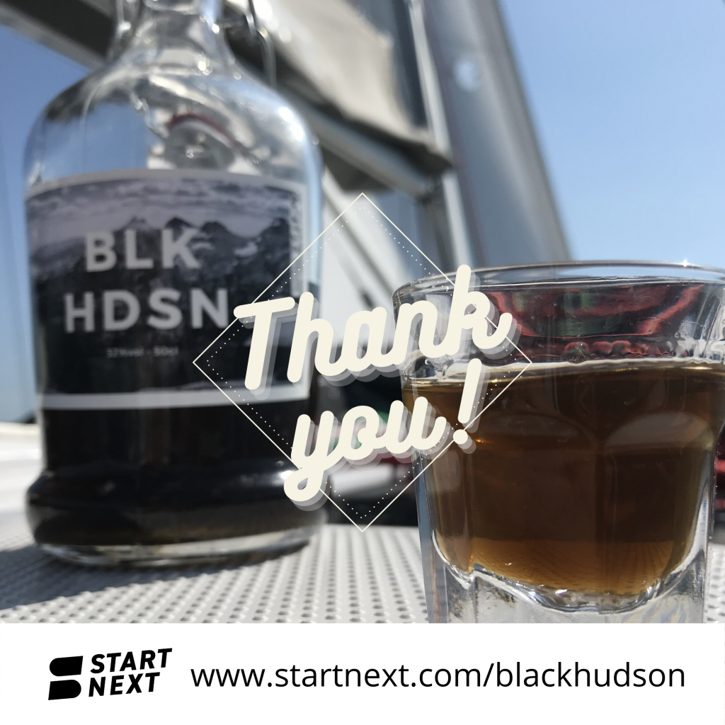 Startnext Kampagne Black Hudson Thank You Erfolg Rumlikör